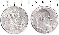 Изображение Монеты Великобритания 1 крона 1902 Серебро XF