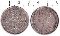 Изображение Монеты Великобритания 1 флорин 1862 Серебро  Виктория