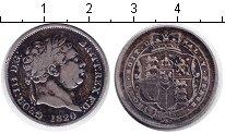 Изображение Монеты Великобритания 1 шиллинг 1820 Серебро XF