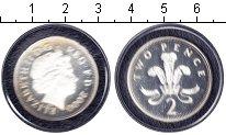 Изображение Монеты Великобритания 2 пенса 2000 Серебро Proof- Елизавета II.