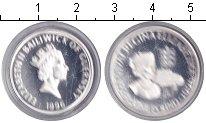 Изображение Монеты Гернси 1 фунт 1996 Серебро Proof- Елизавета II.