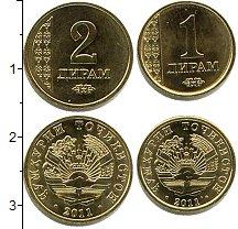 Изображение Наборы монет Таджикистан Таджикистан 2011 2011  UNC- В наборе 2 монеты
