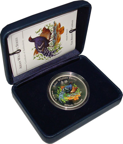Изображение Монеты Острова Кука 2 доллара 2001 Серебро Proof `Подарочная монета с