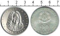 Изображение Монеты ГДР 20 марок 1984 Серебро XF
