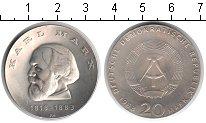 Изображение Монеты ГДР 20 марок 1968 Серебро XF