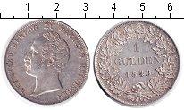 Изображение Монеты Германия Саксен-Майнинген 1 гульден 1846 Серебро XF