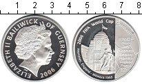Изображение Монеты Гернси 5 фунтов 2006 Серебро Proof- FIFA 2006