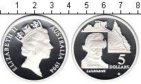 Изображение Монеты Австралия 5 долларов 1994 Серебро Proof- Елизавета II