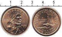 Изображение Мелочь США 1 доллар 2002  UNC Сакагавея