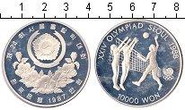 Изображение Монеты Южная Корея 10000 вон 1987 Серебро Proof- Сеул 1988