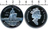 Изображение Монеты Канада 1 доллар 1998 Серебро Proof- Елизавета II