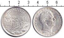 Изображение Мелочь Румыния 25000 лей 1946 Серебро XF
