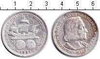 Изображение Монеты США 1/2 доллара 1893 Серебро