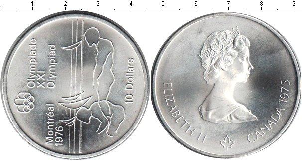 Картинка Монеты Канада 10 долларов Серебро 1975