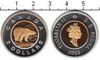 Изображение Монеты Канада 2 доллара 2003 Биметалл Proof- Елизавета II.
