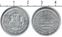 Изображение Монеты Гамбург 1/100 марки 1923 Алюминий  Нотгельд