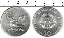 Изображение Монеты ГДР 20 марок 1975 Серебро XF