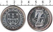 Изображение Монеты Португалия 100 эскудо 1988 Серебро UNC Бартоломеу Диаш