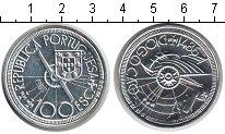 Изображение Монеты Португалия 100 эскудо 1987 Серебро UNC Диогу Канн