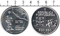 Изображение Монеты Португалия 200 эскудо 1992 Серебро UNC