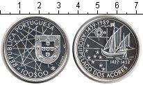 Изображение Монеты Португалия 100 эскудо 1989 Серебро UNC Открытие Азорских ос
