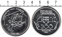 Изображение Монеты Португалия 200 эскудо 1991 Серебро UNC