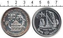 Изображение Монеты Португалия 200 эскудо 1996  UNC-