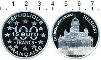 Изображение Монеты Франция 100 франков 1997 Серебро Proof- Хельсинки