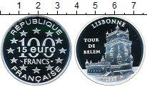Изображение Монеты Франция 100 франков 1997 Серебро Proof- Лисобонн