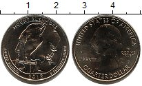 Изображение Мелочь США 1/4 доллара 2013 Медно-никель UNC