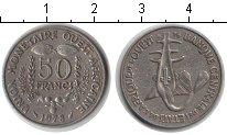 Изображение Монеты Западно-Африканский Союз 50 франков 1978 Медно-никель XF