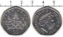Изображение Мелочь Великобритания 50 пенсов 2013 Медно-никель UNC-