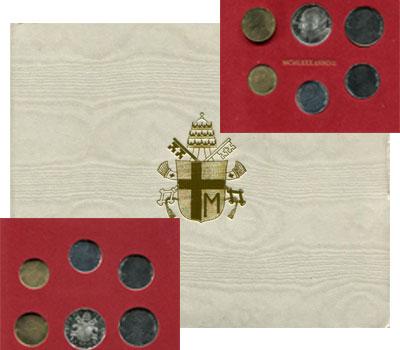 Изображение Подарочные наборы Ватикан Anno II 1980 1980  UNC
