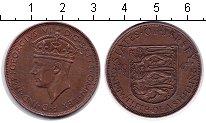 Изображение Монеты Остров Джерси 1/12 шиллинга 1945 Медно-никель XF