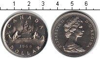 Изображение Мелочь Канада 1 доллар 1968 Медно-никель UNC Елизавета II