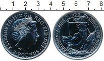 Изображение Монеты Великобритания 2 фунта 2012 Серебро UNC-