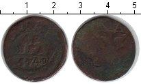 Изображение Монеты 1741 – 1761 Елизавета Петровна 1 деньга 1749 Медь