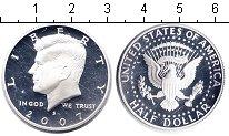Изображение Монеты США 1/2 доллара 2007 Серебро Proof-