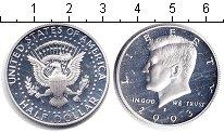 Монета США 1/2 доллара Серебро 2003 Proof- фото