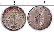 Изображение Монеты Филиппины 10 сентаво 1944 Серебро XF