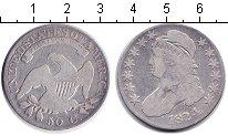 Изображение Монеты США 50 центов 1824 Серебро VF