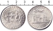 Изображение Монеты США 1/2 доллара 1938 Серебро UNC-