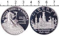 Изображение Монеты США 1 доллар 1996 Серебро Proof-