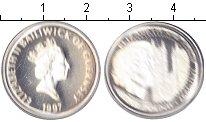 Изображение Монеты Гернси 1 фунт 1997 Серебро Proof- Елизавета II. Золота