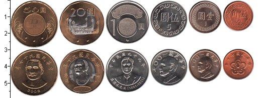 Изображение Наборы монет Тайвань Тайвань 0  UNC-