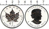 Изображение Мелочь Канада 5 долларов 2013 Серебро Proof-