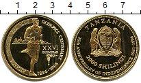 Изображение Мелочь Танзания 2000 шиллингов 1996  UNC-