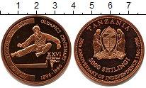 Изображение Мелочь Танзания 2000 шиллингов 1996 Медь UNC- XXVI Олимпиада Атлан