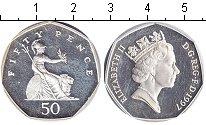 Изображение Монеты Великобритания 50 пенсов 1997 Серебро Proof- Елизавета II.
