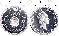 Изображение Монеты Великобритания 2 фунта 1994 Серебро Proof- Елизавета II. 300 ле